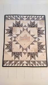 24 best Downton Abbey Quilts images on Pinterest | Quilt patterns ... & Downton Abbey Table Runner Quilt Wall Hanging in Black Beige Fall Winter  Elegant… Adamdwight.com