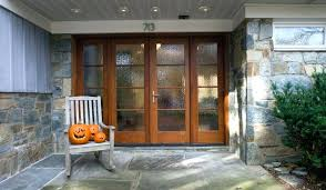 wood entry doors with glass wood exterior doors beveled glass