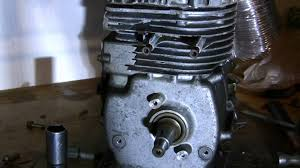 Tearing down Tecumseh Engine with blown connecting rod - YouTube