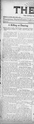 Death of Preston Seely. 26 Mar 1914. The Sun (Coffeyville KS) -  Newspapers.com