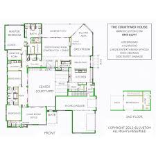spanish house plans with inner courtyard 18 modern visualize representation excellent enclosed pictures best