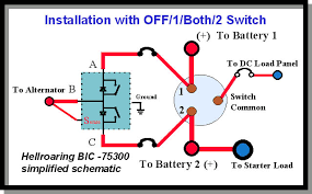 4 way switch schematic dedicated starter battery for marine marine13 jpg 63366 bytes