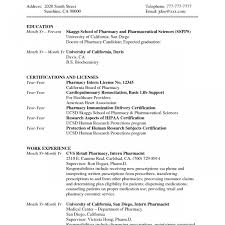 Make Pharmacist Resume Sample Templates Australia Australian Format ...