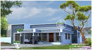 Small Picture 1990 Sq Ft Single Floor 4 BHK Modern Home Designs Home Interiors