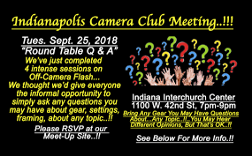 meeting photography round table q a september 25 2018 indianapolis club