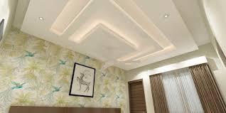 simple bedroom ceiling