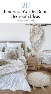 bedroom decor photos. Modren Photos STYLECASTER  Bohemian Bedroom Decor Pin It Throughout Photos