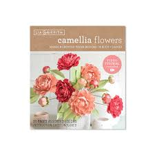 Paper Flower Kit Camellias Frosted Paper Flower Kit Shop Lia Griffith