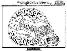Small Picture Magic School Bus Coloring Page Coloring Home