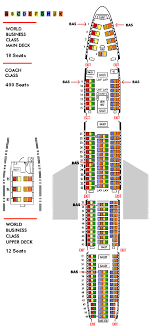 747 400 Seating Chart United Airlines 61 Perspicuous United 747 Seating Chart