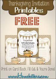 Pilgrim Thanksgiving Invitations Free Printable