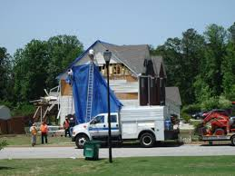 damage to home in clayton county
