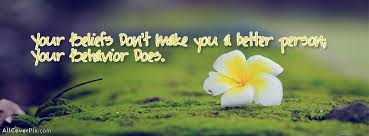 Beautiful Cover Pictures With Quotes Best of Beautiful Behavior Quote Cover Photo Fb Fb Covers Fb Timeline