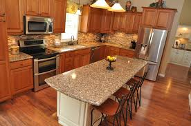 Cherry Shaker Kitchen Cabinets Kitchen Remodel Using Showplace Cherry Wood Cabinetry Cambria