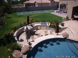 pool designs with swim up bar. Outdoor Living Es Boulder Creek Pools And Spas With Backyard Designs Pool Swim Up Bar Ideas.