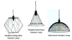 wire cage light pendant industrial inside lighting ideas geometric security flood guard shade wi wire cage light lamps hanging 1