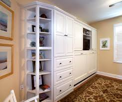 murphy bed home office. Murphy Bed Home Office. Painted Office Wall In White By Showplace Cabinetry