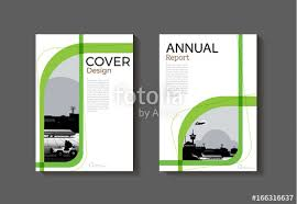 Green Brochure Template Green Cover Abstract Modern Cover Book Brochure Template Design