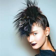 Image Coiffure Punk Rock Femme Cheveux Long Coiffure Cheveux