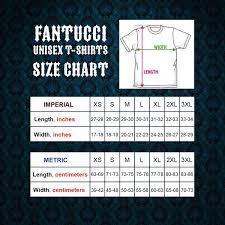 Crazy Shirts Size Chart