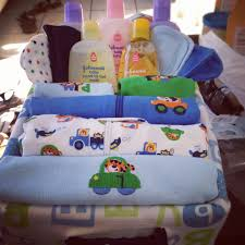 baby shower diy gift basket boy
