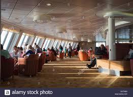 Restaurant P L Example Das Interieur Restaurant Bar Auf P O Cross Channel Ferry Den Geist
