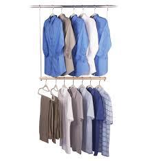 double hang closet rod image