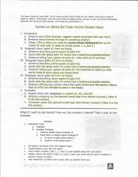 outline template for basic essays the english emporium lesson plans and guidelines for teaching outlining how to make an outline