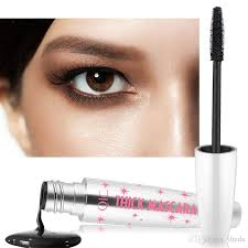 new hot 4d mascara curled lashes black waterproof lengthening thick makeup mascara unique mascara high quality makeup gift sets from tfteda