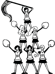 Monster High Cheerleader Coloring Pages Free Printable Monster High