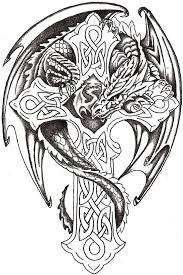 Dragon Lord Celtic By Thelob On Deviantart кельтские узоры идеи