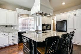 kitchen design white cabinets black appliances. White Kitchen Cabinets With Black Appliances How To Coordinate In A Design S