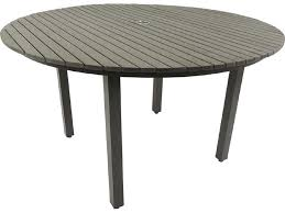 patio heaven riviera aluminum 52 round dining table