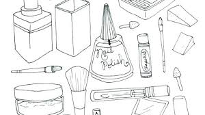 Makeup Coloring Pages Makeup Coloring Book Makeup Coloring Pages To