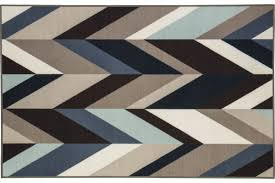 value blue and gray rug keelia medium in brown by ashley at gardner white