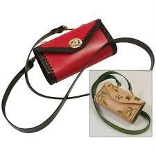 tina leather handbag kit by tandy