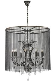 burlesque crystal chandelier medium