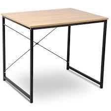 Tisch Schreibtisch Bürotisch Arbeitstisch Holz Stahl Tsb03hei
