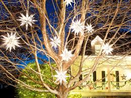 Christmas Star Lights Outdoor