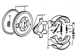brake parts for ford 8n tractors (1947 1952) ford 8n operator manual at 8n Ford Tractor Diagrams