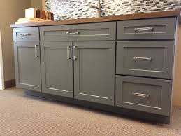 kitchen island full overlay drawer stacks should end panels cover drawers