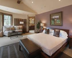 Accent colors for taupe walls bedroom contemporary with beige sofa purple  accent wall