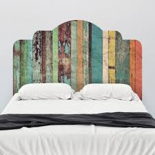 ... Large Size Simple Bedroom Design Cheap Wall Mounted Wooden Headboard  Piece Standard Pillow Shams Plain White ...