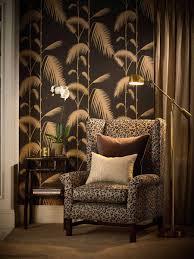 Cole And Son Behang Palm Leaves Black Drent Van Dijk Shop