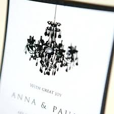 whole invitations personalised chandelier wedding invitation invitations by dawn thank you cards