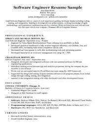 Best Resume Format For Software Developer Best Resume Format For Software Engineers Java Developer Resume