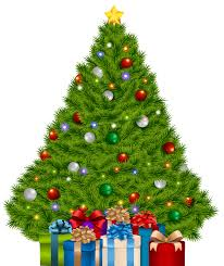 christmas tree with presents and lights clip art. Extra Large Christmas Tree With Gifts PNG Clip Art Image Gallery Clipart On Presents And Lights