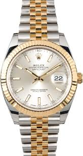 rolex oyster perpetual datejust mens lady stainless gold rolex datejust 41 126333 jubilee
