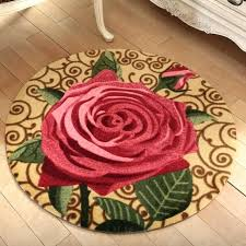 flower area rugs round flower rug round rose flower doormat home entrance hallway area rug computer flower area rugs