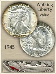 1960 Half Dollar Value Chart 1945 Half Dollar Value Discover Their Worth